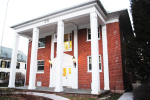 A student allegedly broke into the Sigma Chi Chapter House, located  on Carlisle Street, on Nov. 21.