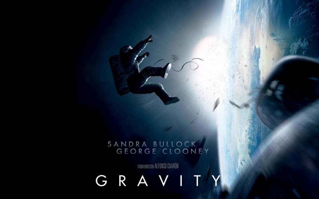 "While undeniably a visually-stunning film, ""Gravity"" presents a flawed and superficial story, despite its ten Oscar Nominations. Photo Credit: www.junkiemonkeys.com"
