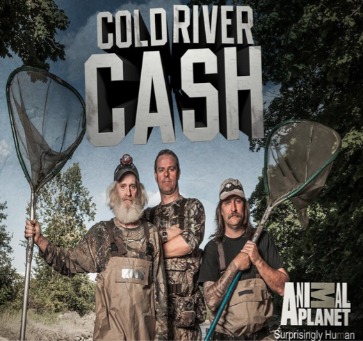 "College alum, Geno McDermott '08, recently produced a new show on Animal Planet called ""Cold River Cash,"" among several other successful TV shows. Photo credit: Animal Planet"