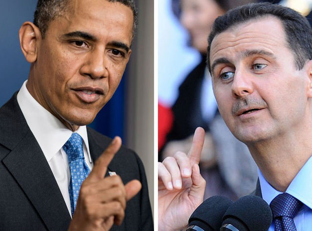 While President Obama's only real option, at this point, is to remove the Assad Regime from power, the only viable way of doing so is a slow process of attrition. Photo Credit: Thenewstribe.com