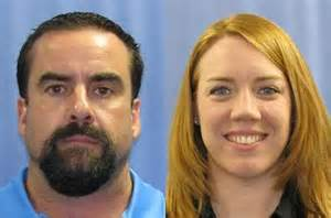 Gettysburg College Director of Student Activities Morgan Stocker (right), after being charged with fraud by Dauphin County authorities, has been placed on paid administrative leave. Stocker's boyfriend, Douglas Miller (left) is also accused. Photo Credit: cpbj.com