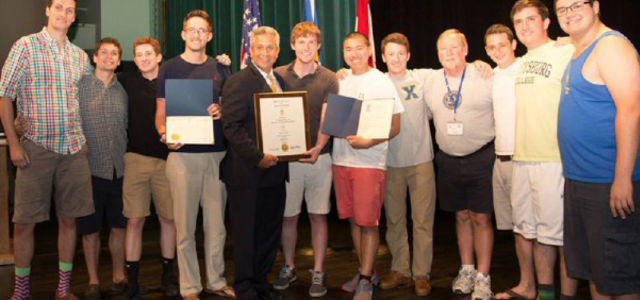 By Brendan Raleigh, News Editor Gettysburg's Sigma Chi chapter won its fifth consecutive Peterson Award last month, earning the highest score in the entire fraternity, both in America and Canada....