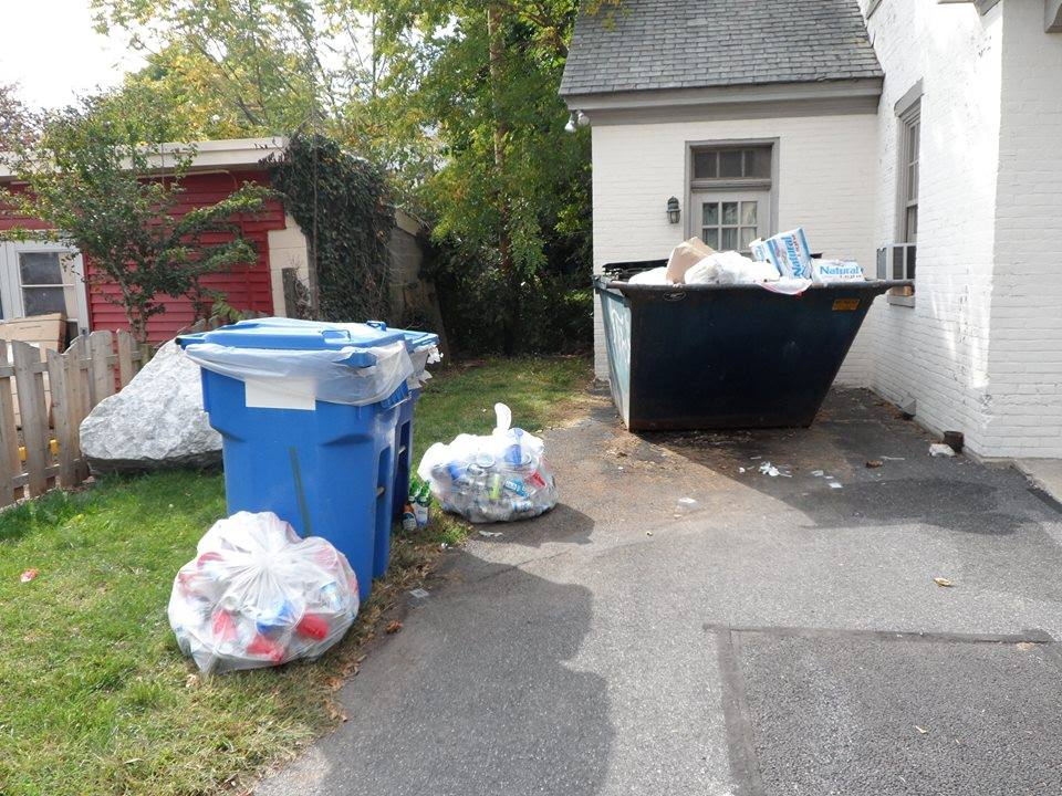"The Greek Recycling Program has taken the recyclable ""weekend waste"" that Gettysburg College's fraternities produce and managed it in a more environmentally-conscious way."