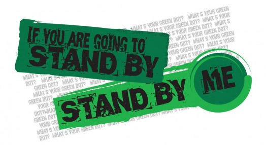 The logo for the Green Dot Bystander Prevention Program