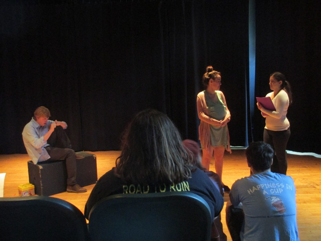 The Owl and Nightingale Players host Black Box Blitz. Photo credit Erica LeFebvre