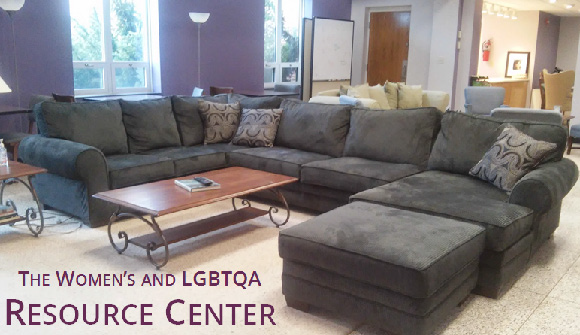 The Women's and LGBTQA Resource Center, located on the first floor of Apple Hall, is a safe place for students to talk about sensitive issues and learn more about violence prevention. Source: gettysburg.edu