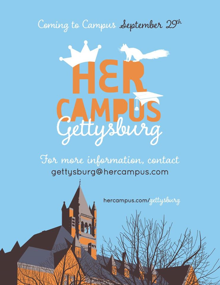 Photo courtesy of Her Campus Gettysburg College's Facebook page