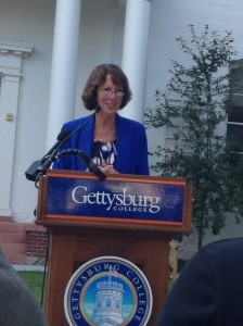 President Janet Morgan Riggs recently announced Gettysburg College's approach towards DACA