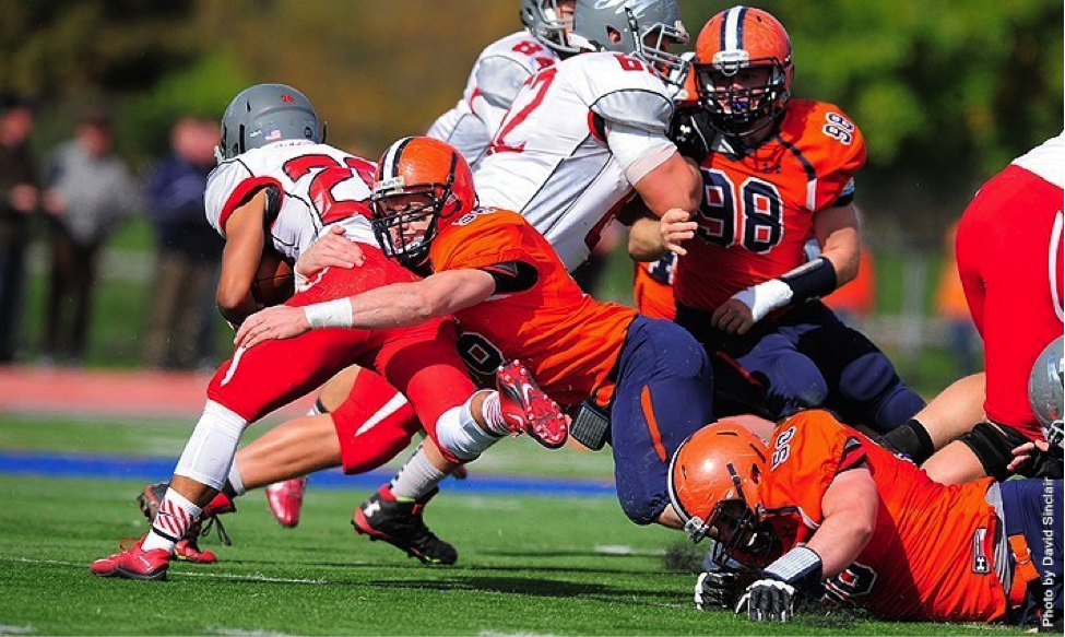 Photo courtesy of Gettysburg College website. The Muhlenberg Mules ended Gettysburg's winning streak with a devastating 41-13 loss on homecoming weekend.