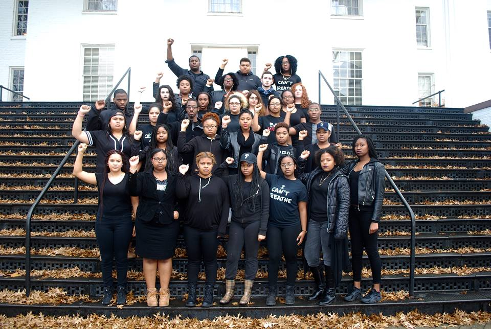 The Black Student Union at Gettysburg College. Photo courtesy of facebook.com/BSUatGettysburgCollege.com