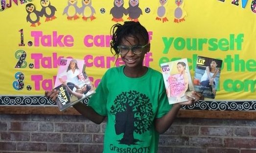 Marley Dias of the #1000BlackGirlBooks movement