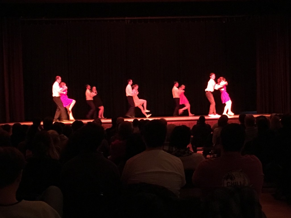 Dance ensemble's spring showcase featured contemporary, hip hop, and swing. Photo courtesy of Jamie Welch.
