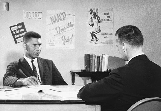 Medgar Evers was a Civil Rights activist who worked to ensure voting equality. Photo credit to aarp.com
