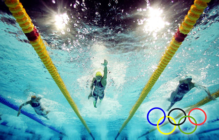 Olympics-swimmers