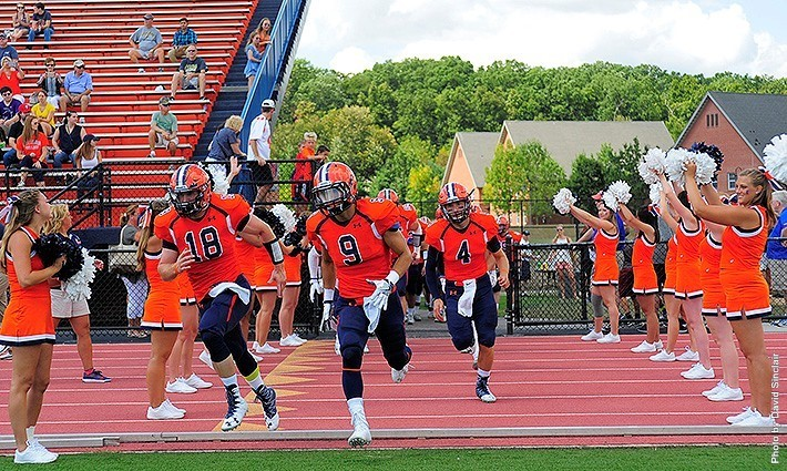 The Gettysburg College Football team now stands 1-2 on the season. Photo Credit: David Sinclair, GC C&M