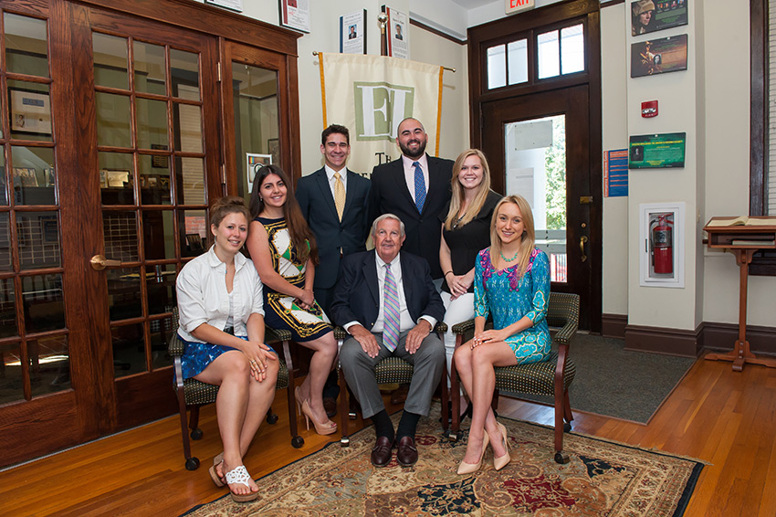 2015-2016 EI Fellows with Mr. Fielding Photo credit: Eisenhower Institue