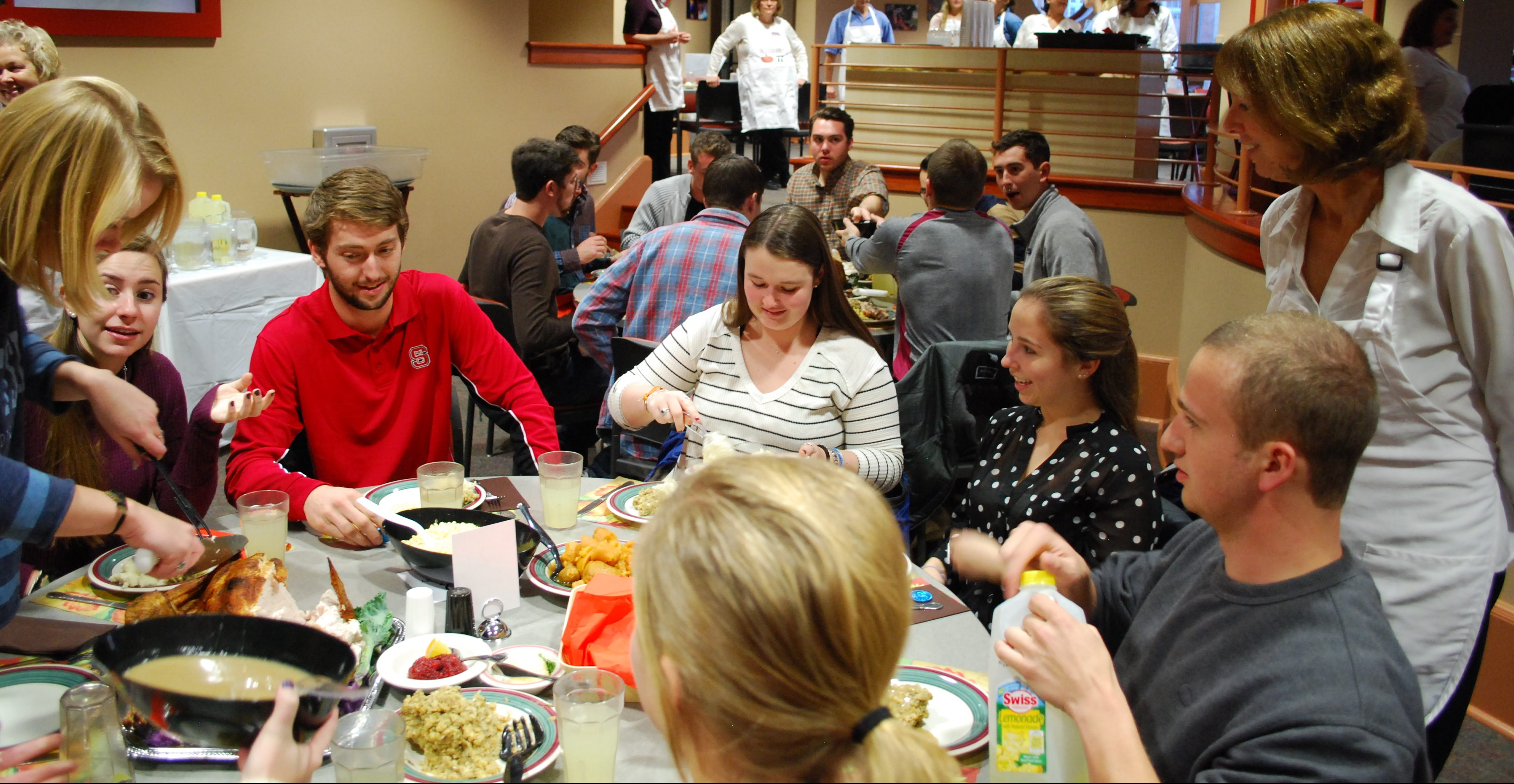 A photo from the 2016 edition of Servo Thanksgiving (Photo Jamie Welch / The Gettysburgian)