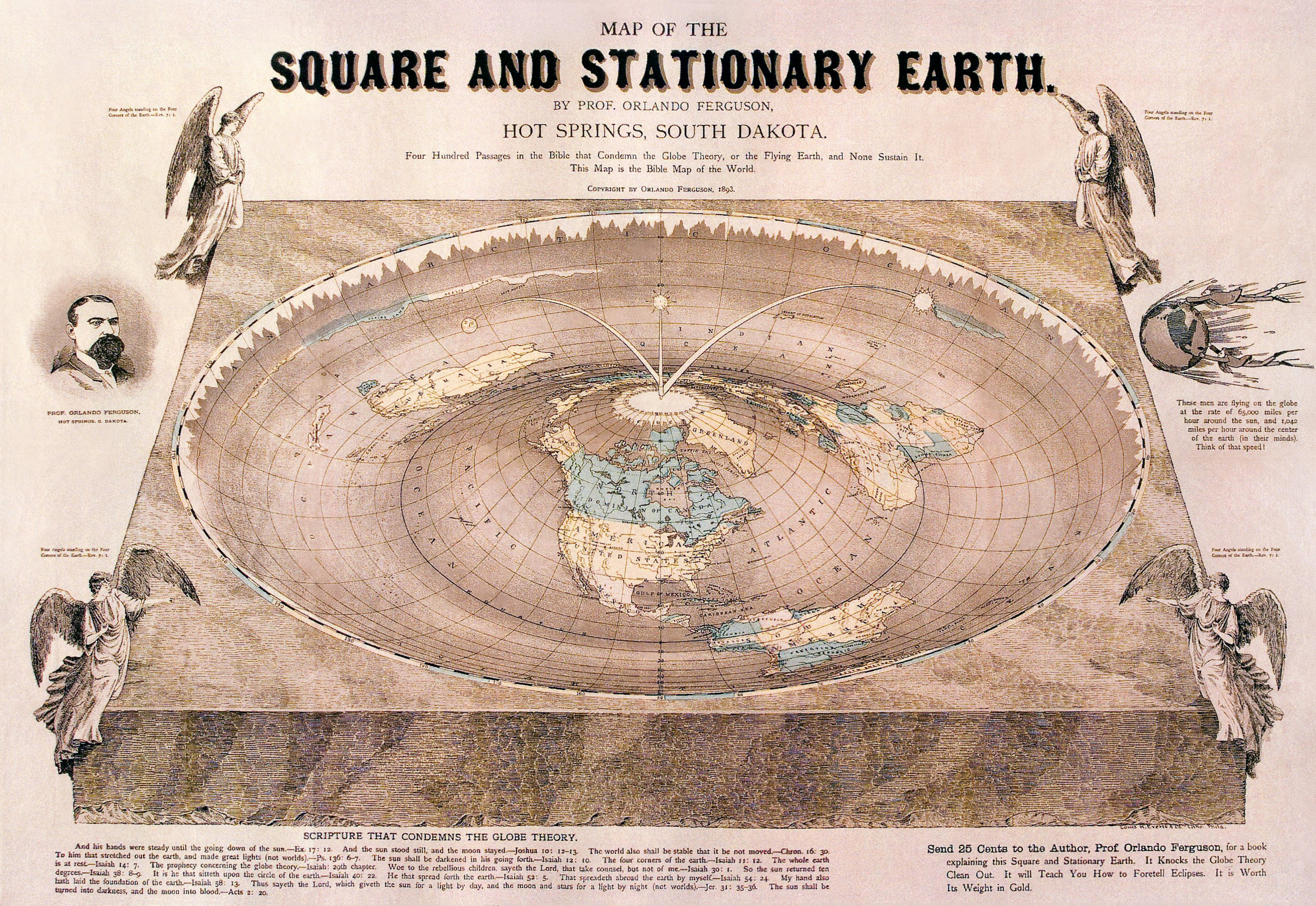 Scientific article suggests that the Earth is in fact flat  The