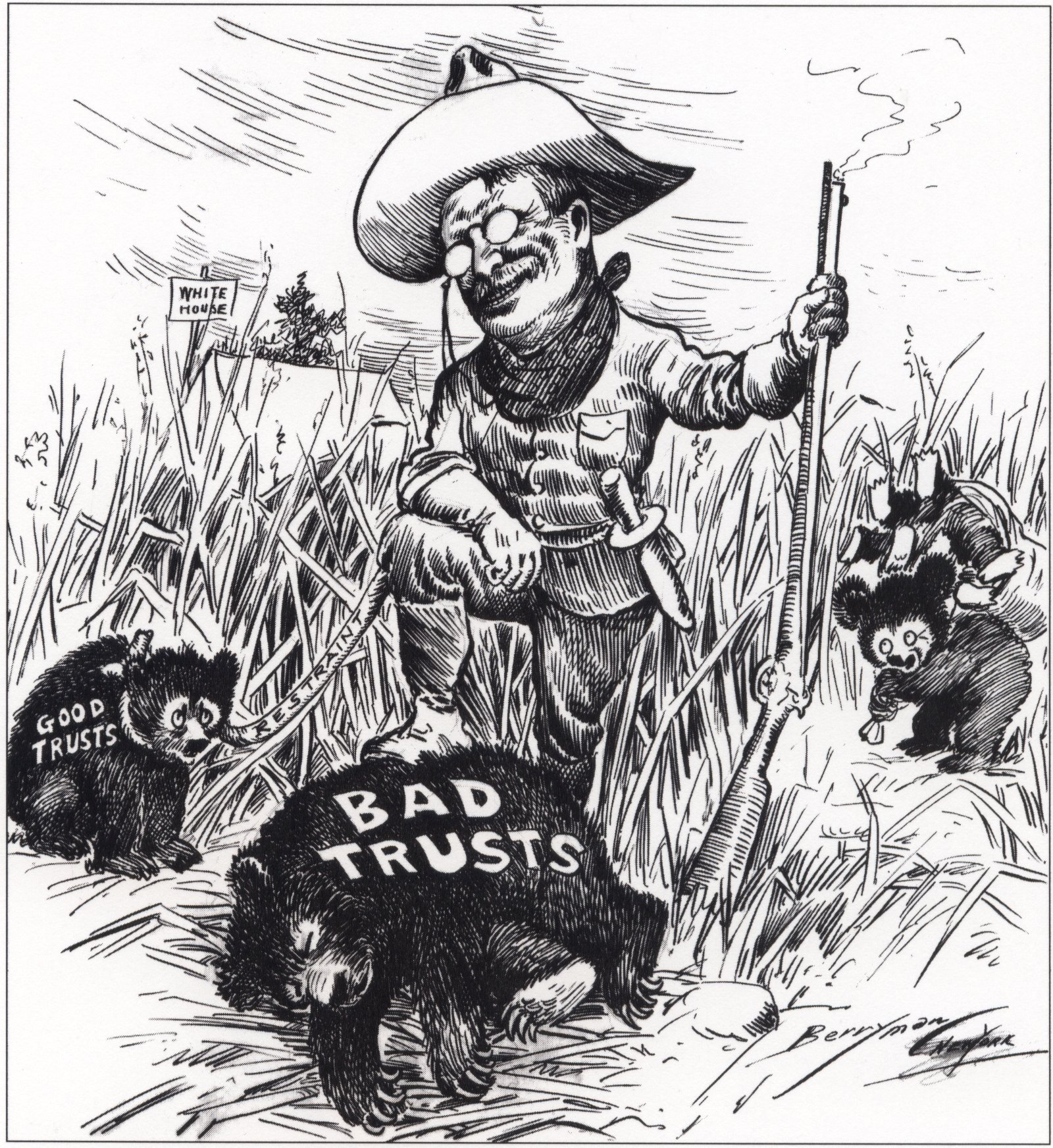Image result for good trusts + bad trusts
