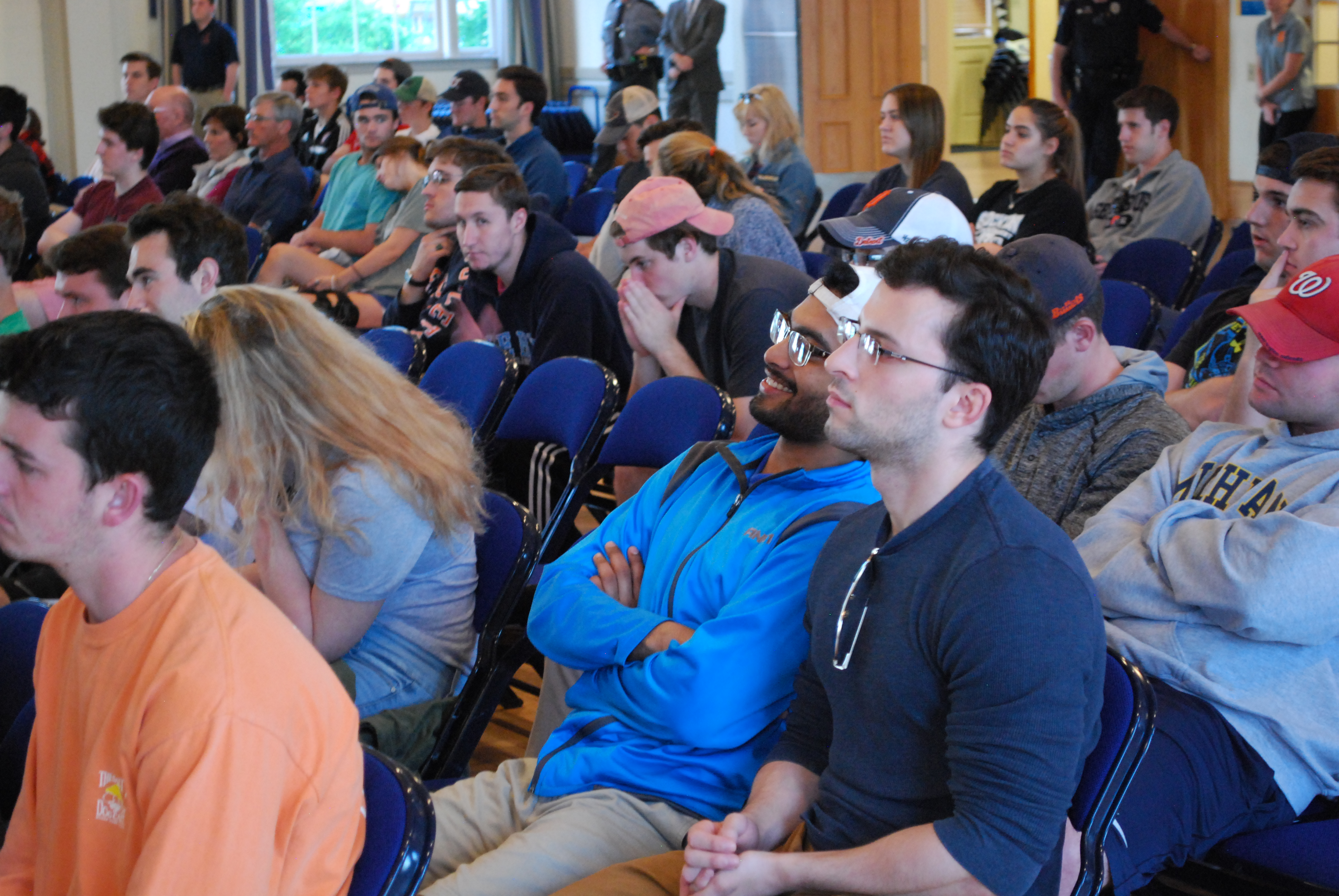 Students listen to Robert Spencer's lecture last May (Photo Jamie Welch / The Gettysburgian)