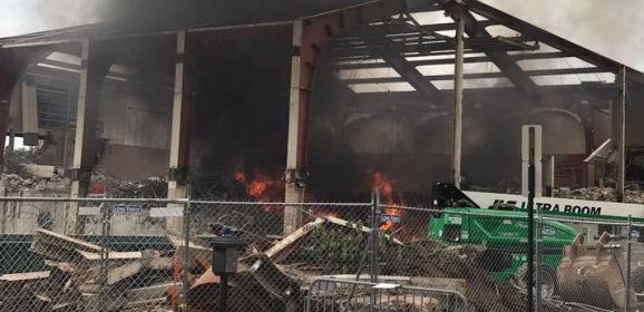 Fire extinguished at the College Union Building construction site