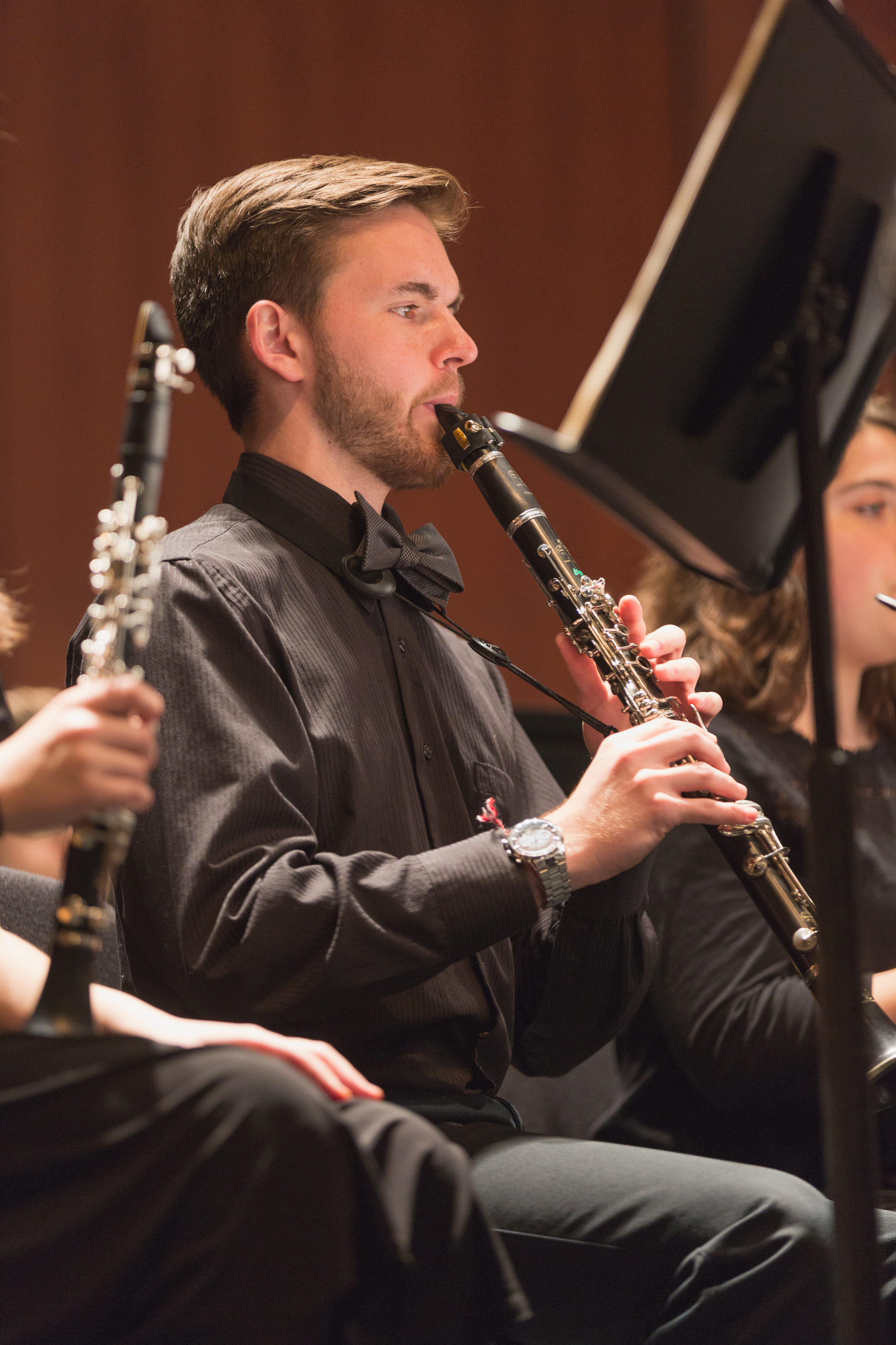 Senior clarinetist Isaac Hawkins sat down with A&E reporter Michelle Grosser to talk about his upcoming senior recital Photo courtesy of Gettysburg College