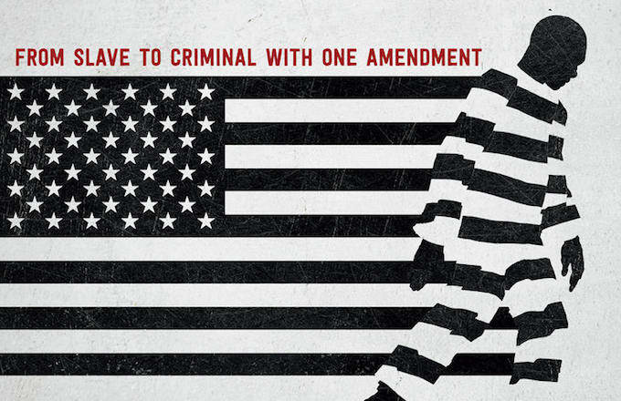 Promotional movie poster of 13th