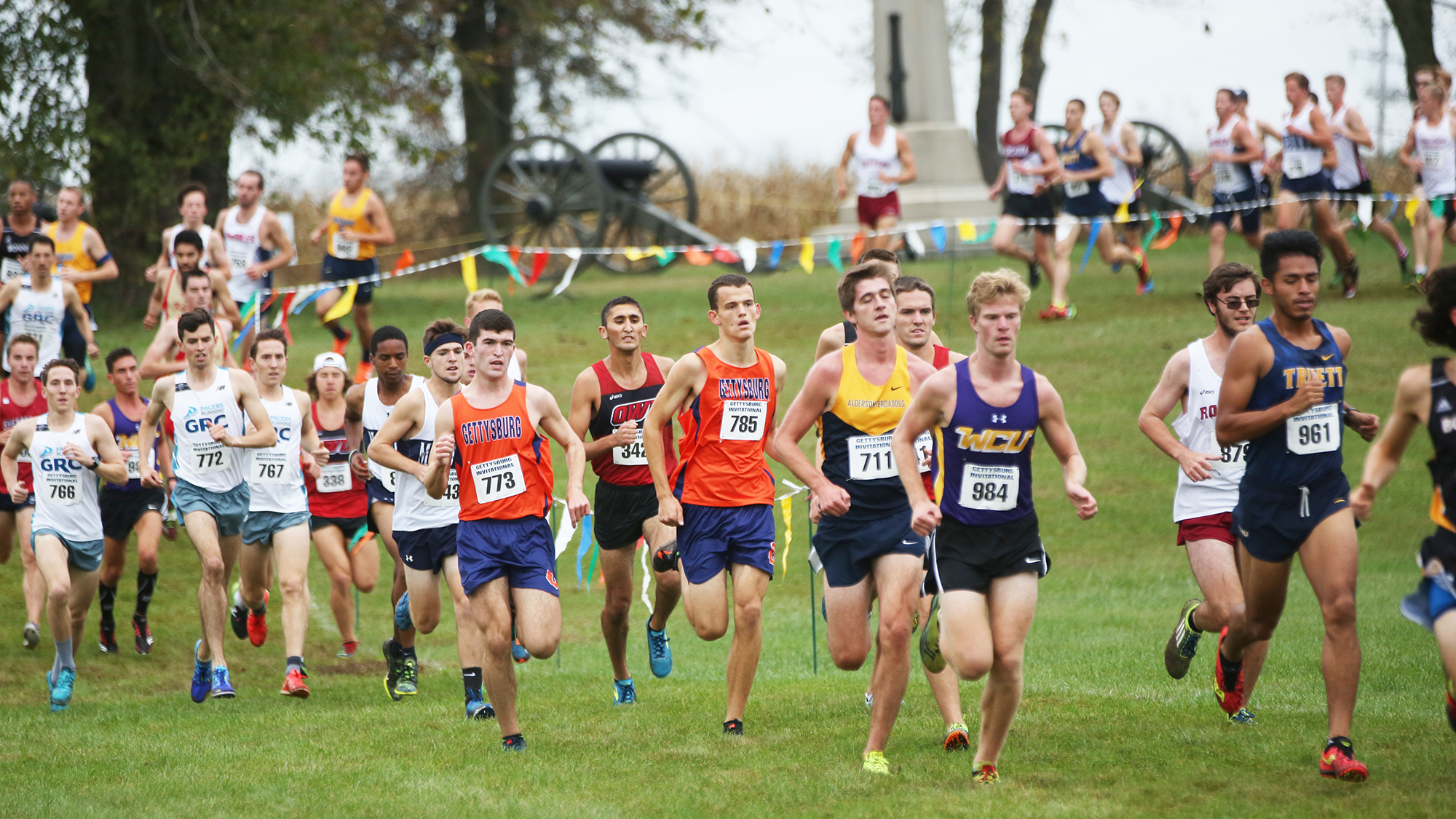 The cross country teams will host their final race on Sunday (Photo courtesy of Gettysburg College Athletics)