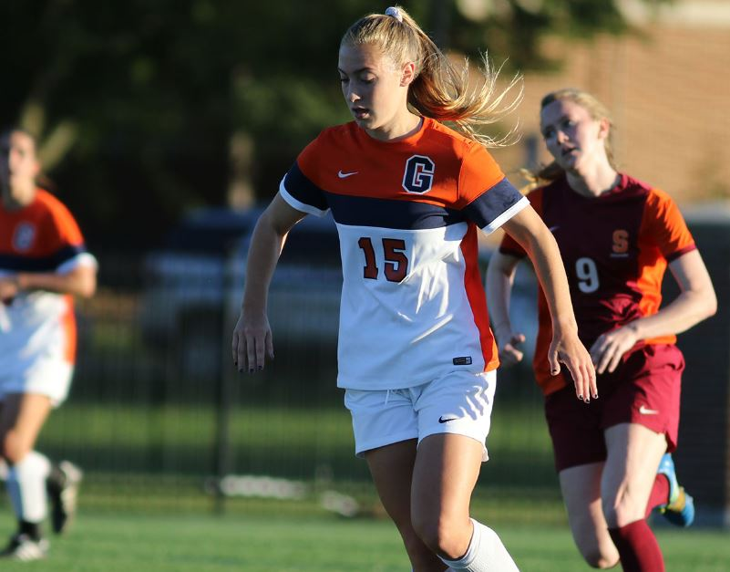 Samantha Esposito has been named The Gettysburgian's athlete of the week (Photo courtesy of Gettysburg College Athletics)
