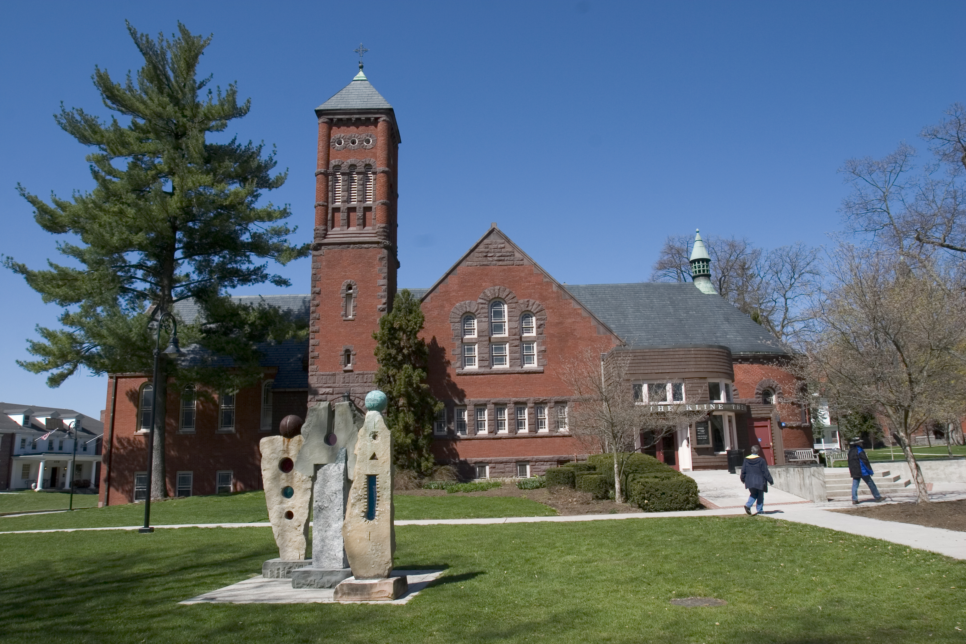 Brua Hall, which contains Kline Theatre (Photo courtesy of Gettysburg College)