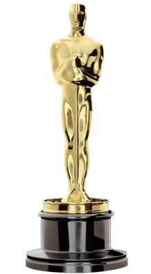 The Academy Award trophy