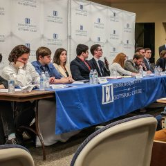 Eisenhower Institute Holds Campus Policy Debate