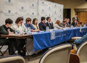 Eisenhower Institute Holds Campus Policy Debate