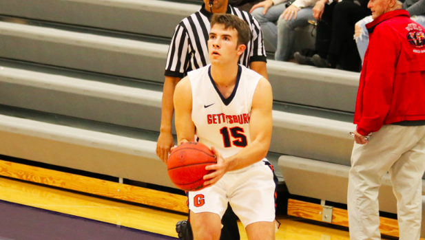 Nick Lord '20 led the way with 14 points (Photo Corey Jewart / Gettysburg College Athletics)