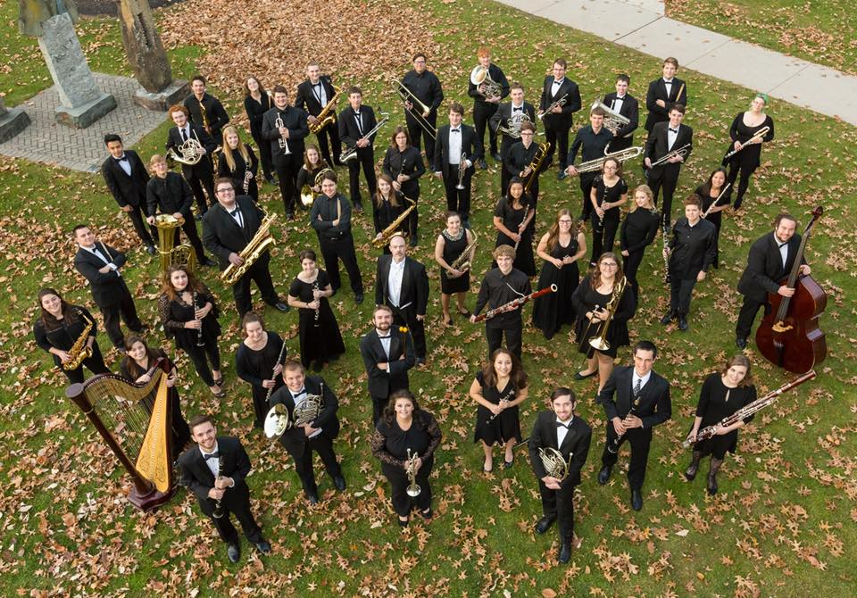 The Gettysburg College Wind Symphony (Photo courtesy of Gettysburg College)