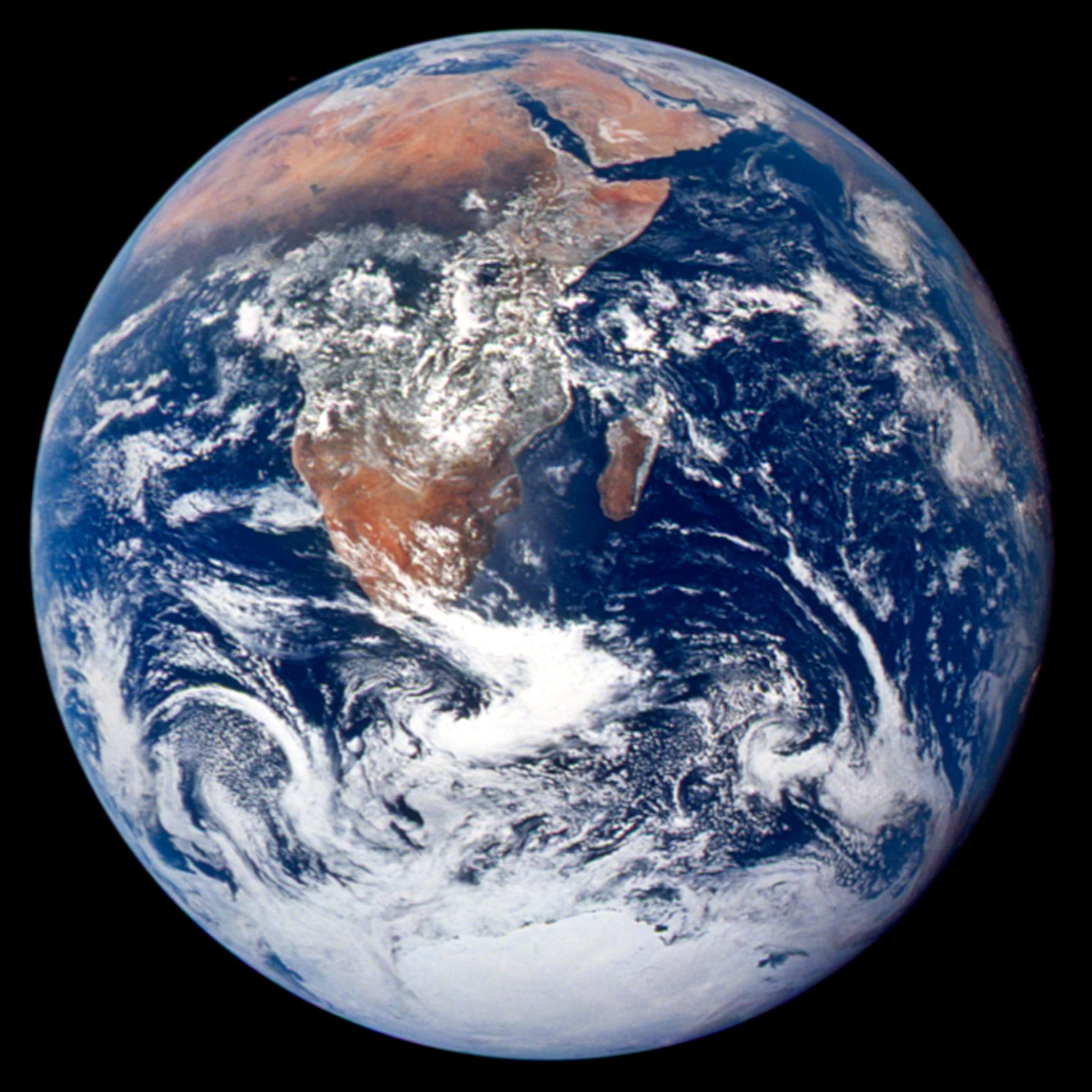 Notice: It's real. (Photo courtesy of NASA)