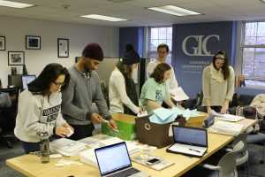 Leadership mentors at the GLC were responsible for organizing the event (Photo courtesy of Garthwait Leadership Center)