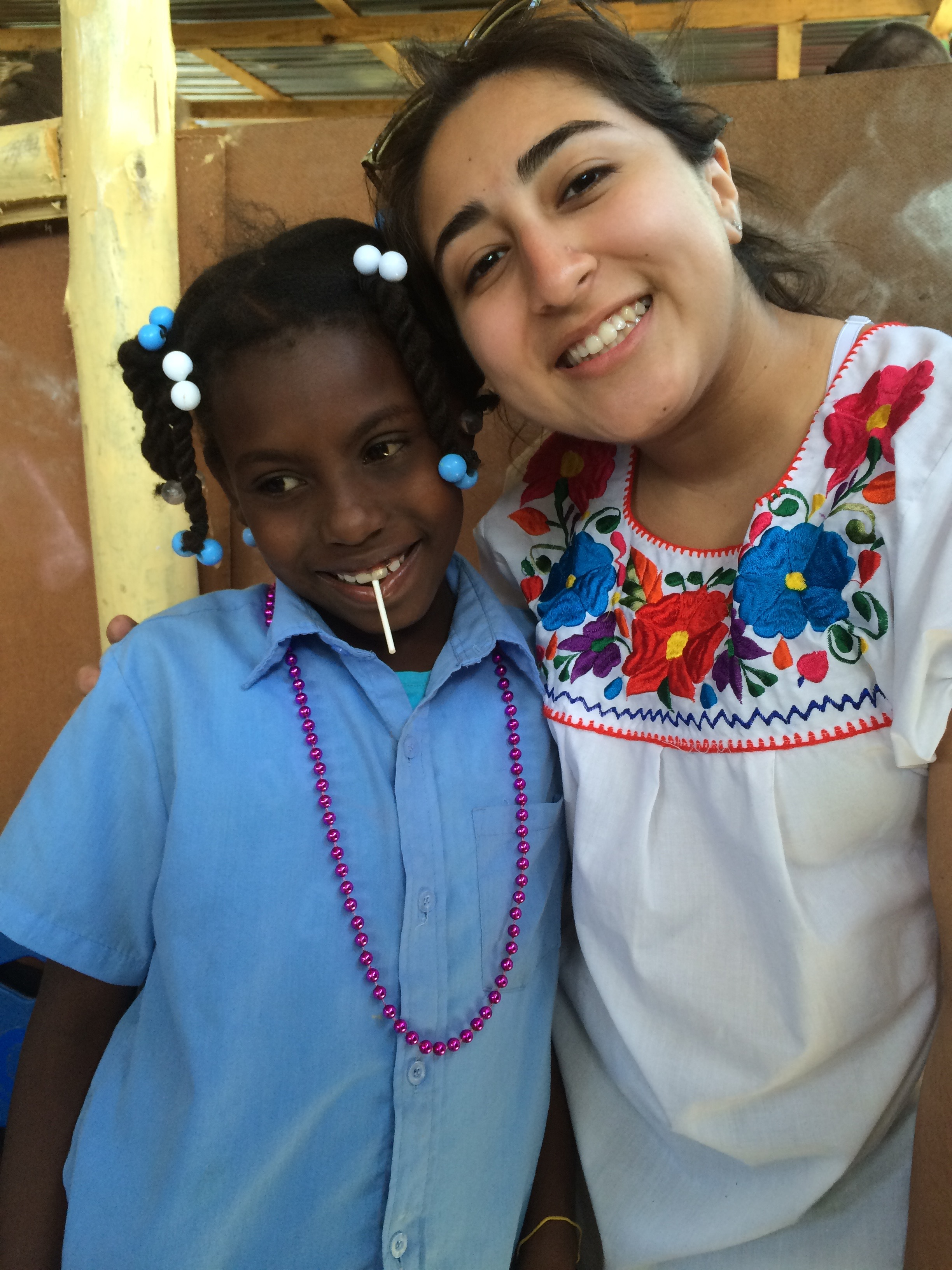 Annette Aguilera-Gonzalez on an Immersion Project in the Dominican Republic (Photo provided)