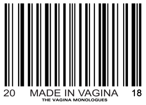 The 2018 Vagina Monologues T-shirt design (Provided by the Women's Center)