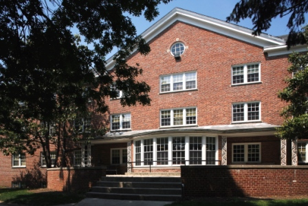 Hanson Hall (Photo courtesy of Gettysburg College)