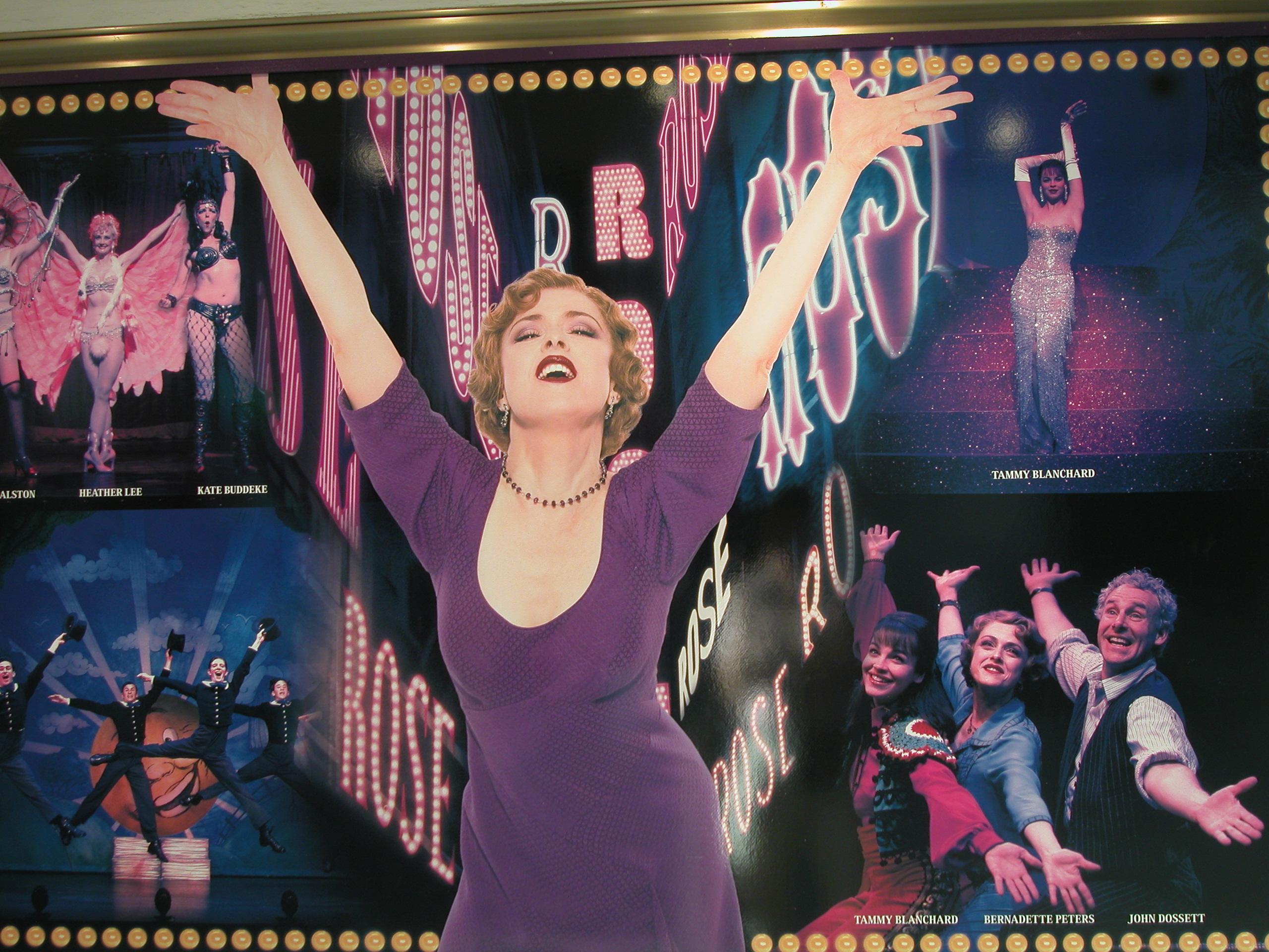 "Bernadette Peters in ""Gypsy"" (Photo David Wilson/Flickr)"