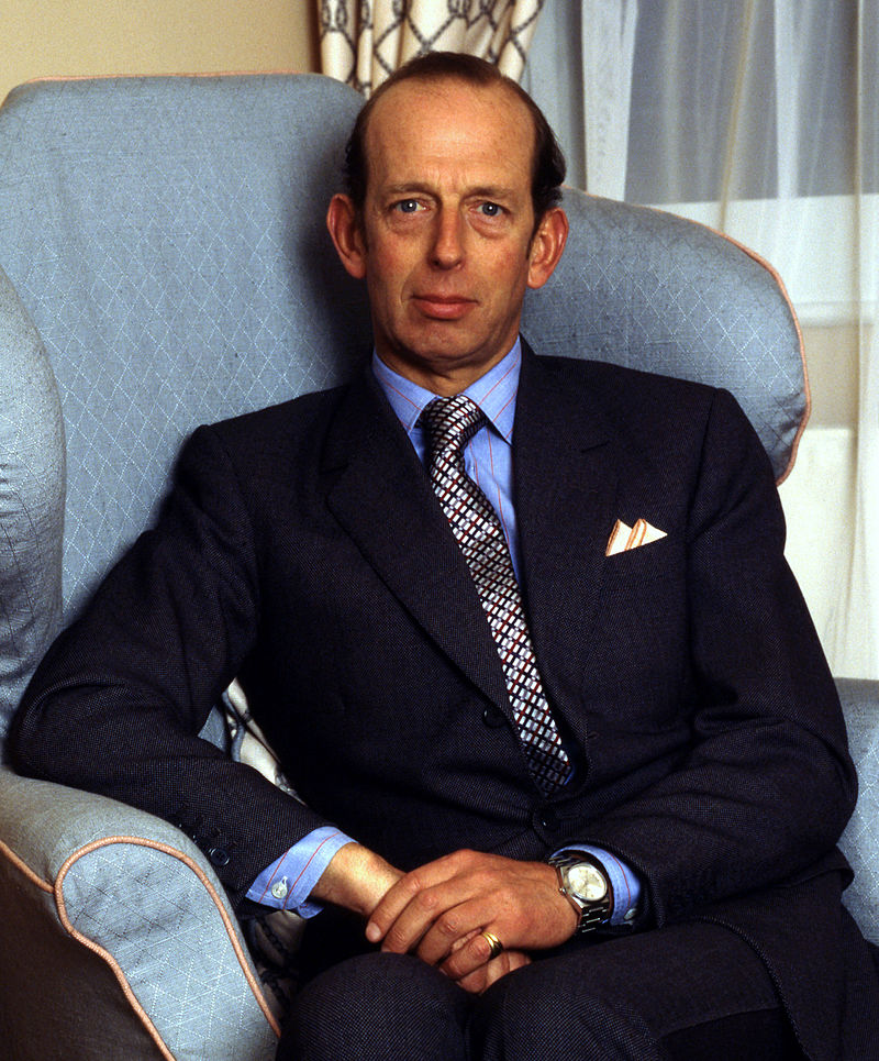 Prince Edward, Duke of Kent (Photo courtesy of Wikimedia Commons)