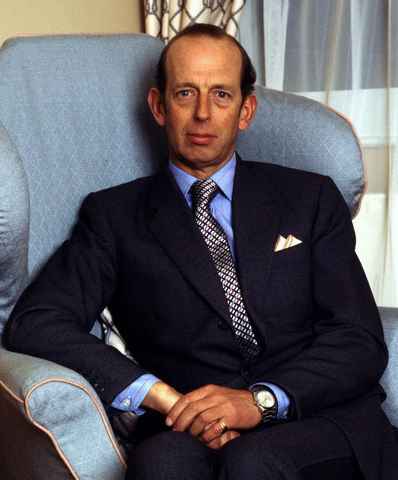 Prince Edward, Duke of Kent (Photo courtesy of Wikimedia Commons)