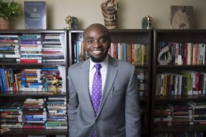 Dr. Hakim Williams, Associate Professor of Africana Studies (Photo courtesy of Gettysburg College)
