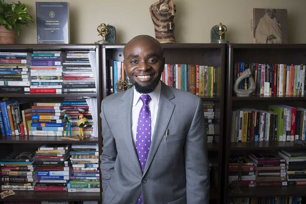 Dr. Hakim Williams, Assistant Professor of Africana Studies (Photo courtesy of Gettysburg College)