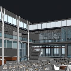 Photo Gallery: Renderings from the New College Union Building