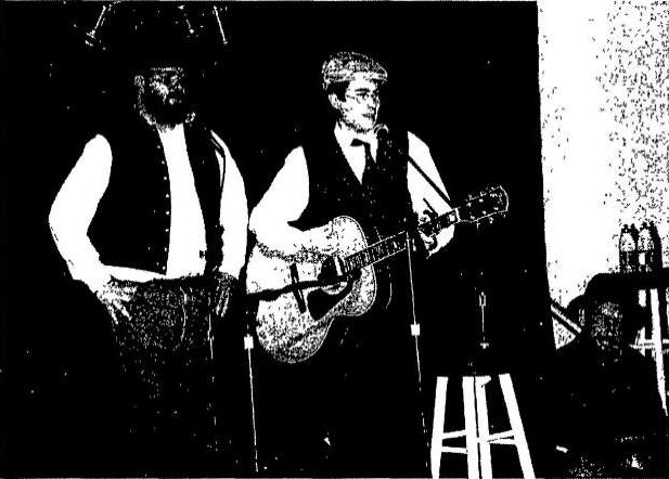 A file photo of Isherwood (center) and the Warrior Poets from the March 5, 1998 edition of The Gettysburgian (Photo Emily Glatfelter/The Gettysburgian)
