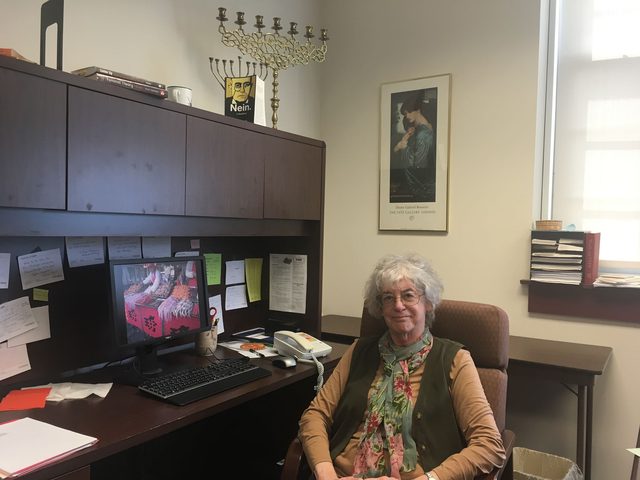 English professor Temma Berg will retire in May (Photo Gauri Mangala/The Gettysburgian)