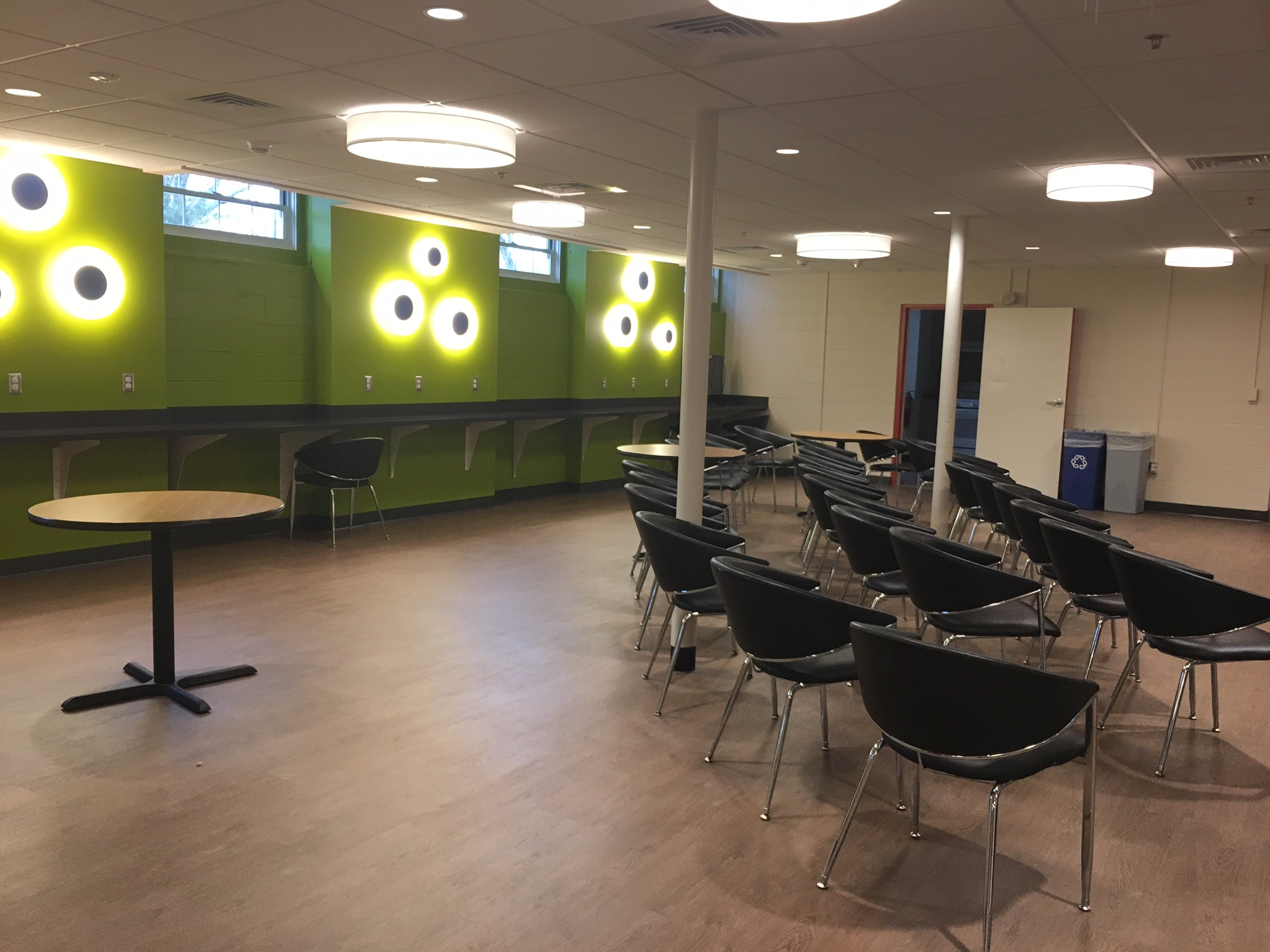 Inside the new Office of Multicultural Engagement (Photo Sarah Kirkpatrick/The Gettysburgian)