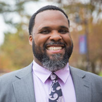Dr. Darrien Davenport, Executive Director of Multicultural Engagement. Davenport came to Gettysburg from York College in 2016, where he served as assistant dean of student affairs. He earned his Ed. D from Northeastern University.